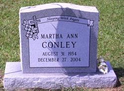 Martha Ann <i>McBryde</i> Conley
