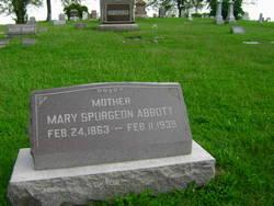 Mary <i>Spurgeon</i> Abbott