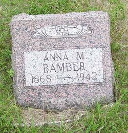 Anna M. <i>Kamerer</i> Bamber