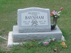 Mildred L. <i>Tubbs</i> Baynham