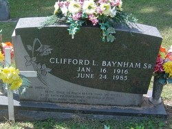 Clifford L. Baynham, Sr