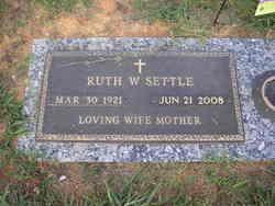 Ruth Etta <i>Wooten</i> Settle