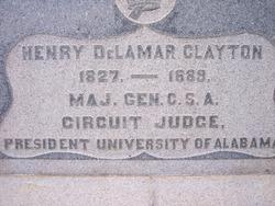 Henry Delamar Clayton
