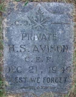 Henry Stanley Avison