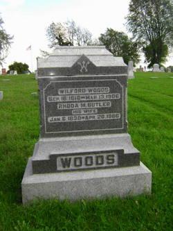 Rhoda M. <i>Butler</i> Woods