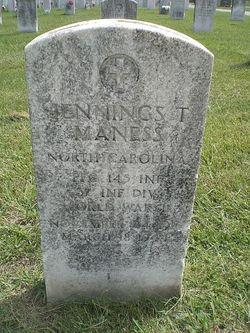 Jennings T Maness
