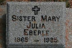 Sister Mary <i>Julia</i> Eberle