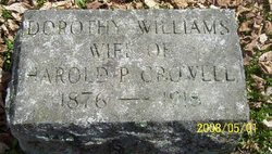 Dorothy <i>Williams</i> Crowell