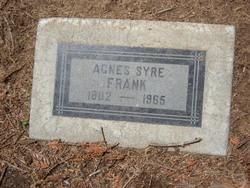 Agnes <i>Syre</i> Frank