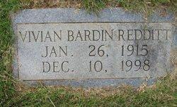 Vivian <i>Bardin</i> Redditt