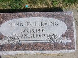 Minnie <i>Hunter</i> Irving