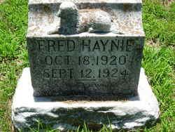 Fred Haynie