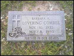 Barbara A. <i>Lovering</i> Combee