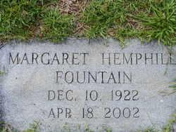 Margaret <i>Hemphill</i> Fountain