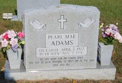 Pearl Mae Adams