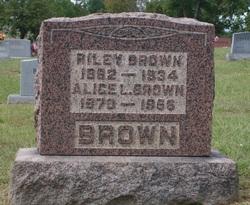 Alice Luverna <i>Dulin</i> Brown