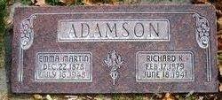Emma Jane <i>Martin</i> Adamson