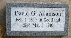 David Gillespie Adamson