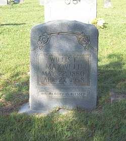 Willis Ethridge Maxwell