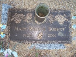 Mary J. <i>Weaver</i> Bobbitt