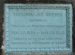 Dr Thomson Jay Hudson