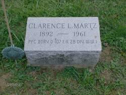 PFC Clarence Lafayette Martz