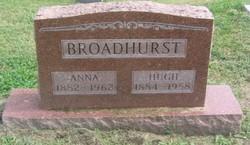 Sarah Anna <i>Michael</i> Broadhurst