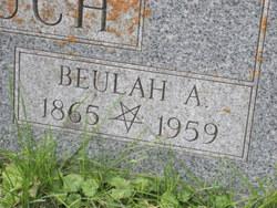 Beulah Evelyn <i>Adams</i> Crouch