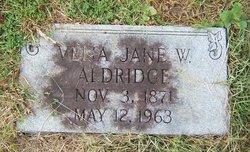 Velia Jane <i>Williams</i> Aldridge
