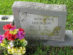 Ruth Hovis Arrington