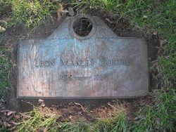 Leon Manley Borden, Sr