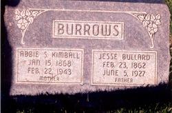 Abbie Sarah <i>Kimball</i> Burrows