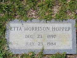 Etta <i>Morrison</i> Hopper