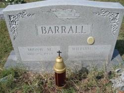 William W. Barrall, Sr