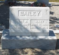 Mary <i>Cates</i> Bailey