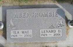 Ila Mae <i>Albee</i> Abercrombie