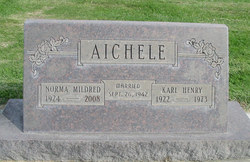 Norma Mildred <i>Evans</i> Aichele