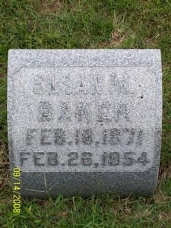 Susan M. <i>Morrill</i> Baker