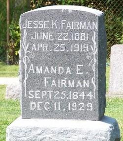 Amanda Elizabeth <i>Neville</i> Fairman