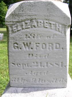 Elizabeth <i>Geib</i> Ford