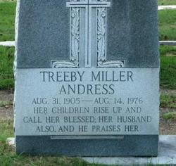 Treeby <i>Miller</i> Andress