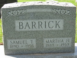 Samuel Tilden Barrick