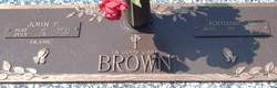 John F Frank Brown