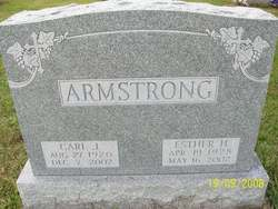 Esther <i>Hoover</i> Armstrong