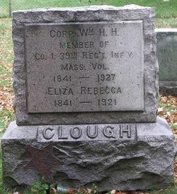 Eliza Rebecca <i>Stearns</i> Clough