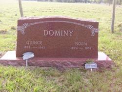 Maggie Nolia Nolie <i>Holmes</i> Dominy