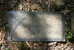 Irene Frances Barnett