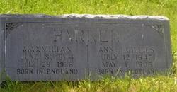 Annie Campbell <i>Gillies</i> Parker