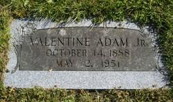 Valentine Adam, Jr