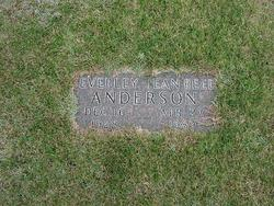 Beverly Jean <i>Reed</i> Anderson